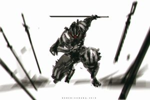 Dark Art Swords Summon by benedickbana