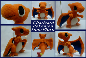 Pokemon Charizard Time Plush by Mega-Arts