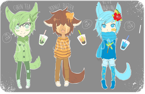 Bubble Tea Boys 1 [CLOSED] by veronabeach95