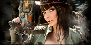 Steampunk Girl by RodTheSecond