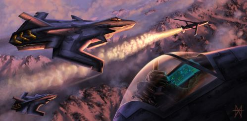 Fighter Planes by mikemars