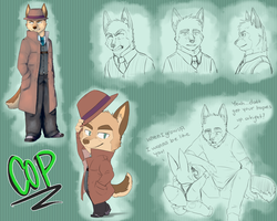 Cop Reference Sheet by MasaBear