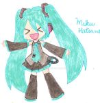 Hatsune Miku by Juliana1121