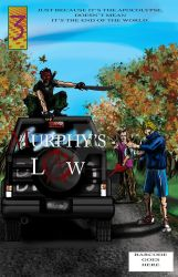 Murphy's Law Issue 3 Cover concept by PiperQuinzel