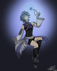 Aqua by songthedemonpuppy