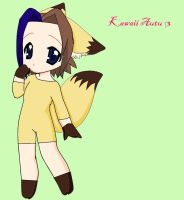 AUTUMN AS PIKACHU KAWAII by NaruSakuLove1234