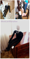 Slenderman doll. by MexicanManatee