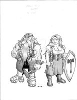 Hobb, Mountain Dwarf by Level9Drow