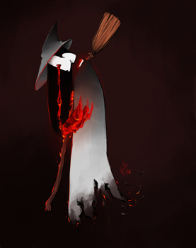 Narith the Magma Witch by Tanize