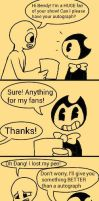 Bendy Autograph by pepricaMint