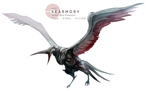 Skarmory by MrRedButcher