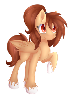 [ART TRADE] Candy-Chan by Calamity-Studios