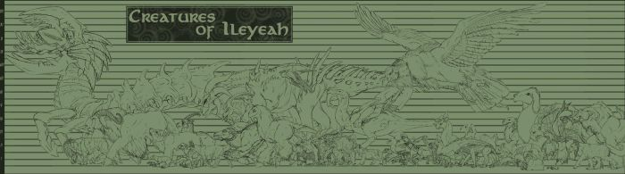 Creatures of Ileyeah by BloodhoundOmega