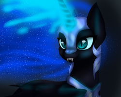 Nightmare moon by ArcticWhistle