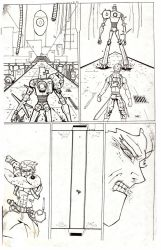 old page comics#1 /2007 by maul10