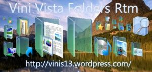 Windows Vista RTM Folders by Vinis13