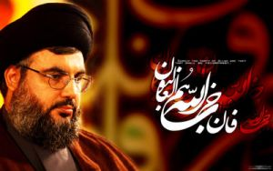 seyed hassan narallah by islamicwallpers