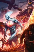 Captain Atom - Issue 4 by Artgerm