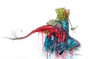 Mustache Ride by alexpardee