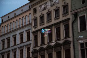 Bubbles in Cracow 2 by Yuveza