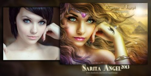 BEFORE AND AFTER : Princess of Egypt by saritaangel07