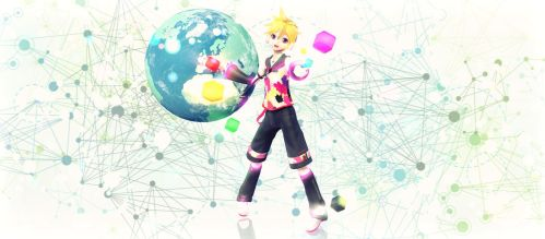 [MMD] YYB Tell your world Len (MODEL DOWNLOAD) by LenMJPU