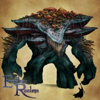 Endless Realms bestiary - Elder Myconid by jocarra