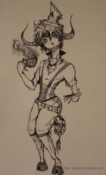 mad hatter by Taitszo