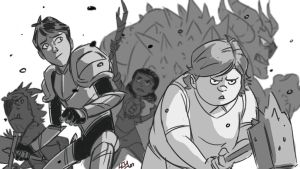 Trollhunters season 2 by Lemwell