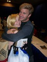 Me and Vic Mignogna :D by Obradyroxmysox