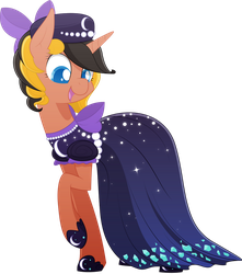 [Commission] Hotfix's New Dress by Emkay-MLP