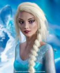 Disney Princess Real Life : Elsa (Frozen) by Vizzee