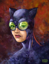 Catwoman by Smoozles