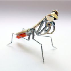 Watch Parts Praying Mantis No 44 by AMechanicalMind
