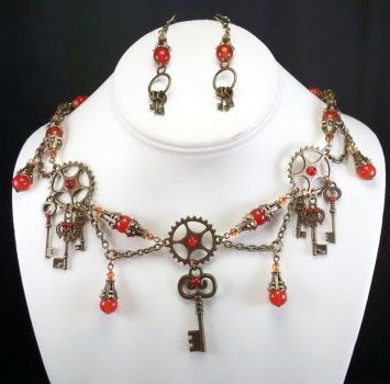 Carnelian Keys by MetallicVisions