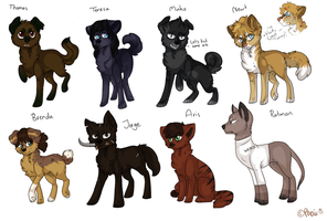 Maze Runner Doges by tinttiyo