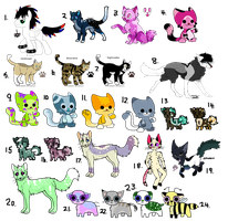 Clearence Adopts, Cheap and Free! (OPEN) by 1-800-ADOPT