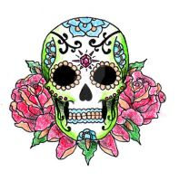 Mexican Skull by kellogsJ