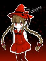 Red Wadanohara by Starry-Lemon