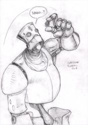 Sketchbot San Dona Fumetto 2018 by OcioProduction