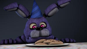 [Contest-Entry] .:Bonnie Finally Got His Cookies:. by TheFNAFLoverYT