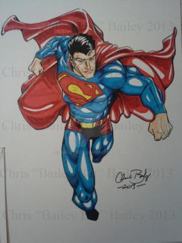 Superman, Man of steel! by BaileyBot