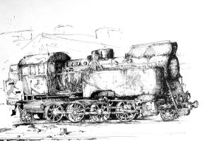 locomotive by gduch