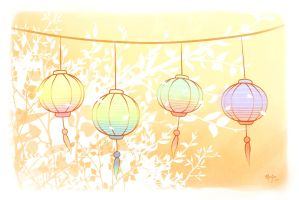Lanterns by tictokki