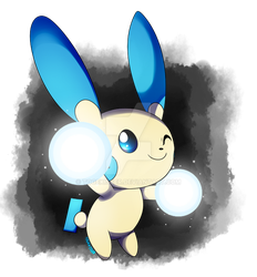 Pokeddexy: Favorite Single Evo - Minun by Togekisser