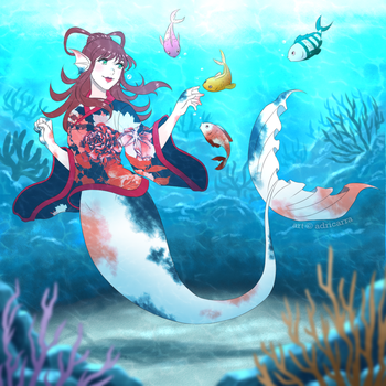 CM: Under the sea by adricarra