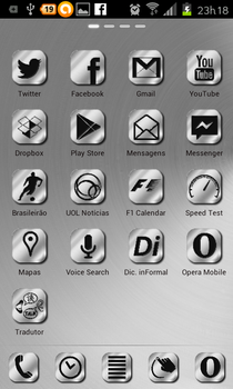 Android Aluminum Icons by Genumano