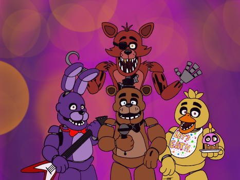 Five Nights at Freddys  by themaskedhunter