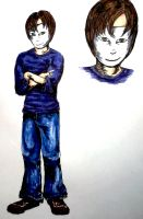 AnonymWriter-Character Sketch by carriehowarth