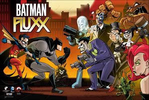 Batman Fluxx Poster by abnormalbrain